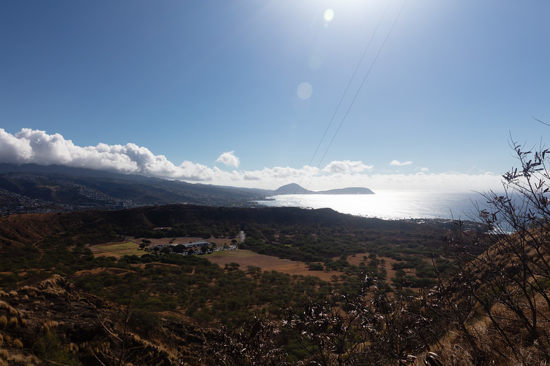 East from Diamond Head