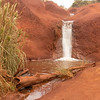 Little waterfall alongside Waimea Canyon Drive