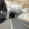 Tunnel through the Diamond Head crater wall