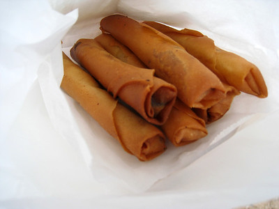 Lumpia at the Waikele Premium Outlets? HAHA
