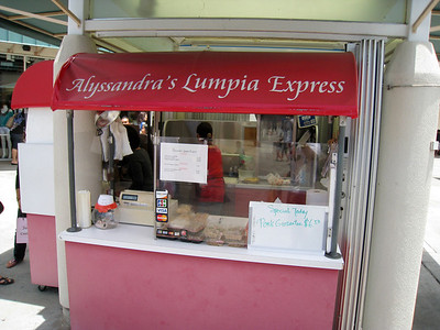 Lumpia at the Waikele Premium Outlets? Sold!