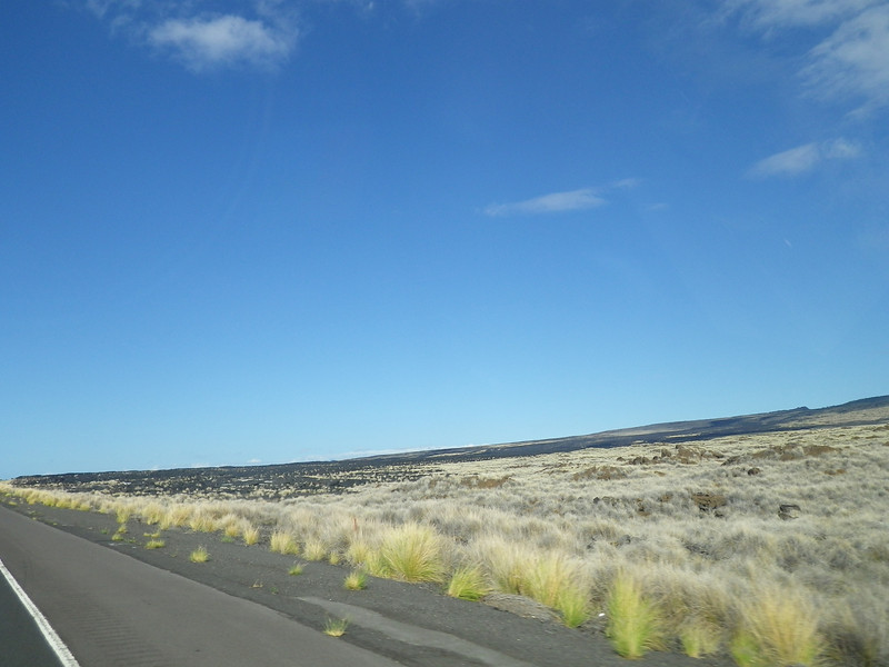 drive from the Kona airport to the Mauna Kea Beach Resort