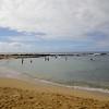 Beach next door, snorkel area