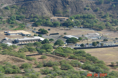 Scenes from the top of Diamond Head follow.