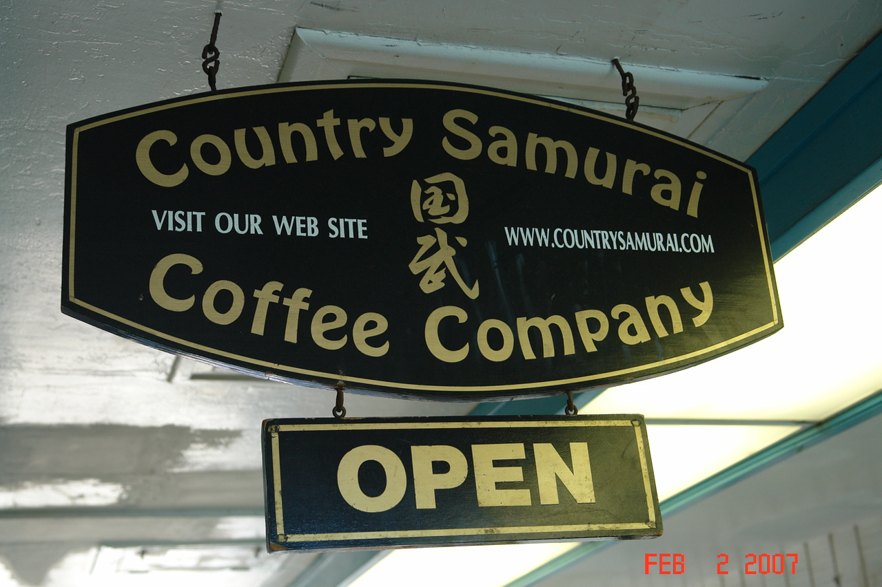 I've phoned from home twice since returning from Hawaii and ordered the Gold coffee from Country Samurai.  Good value.