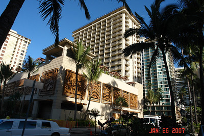 Our hotel, ante and post NCL cruise