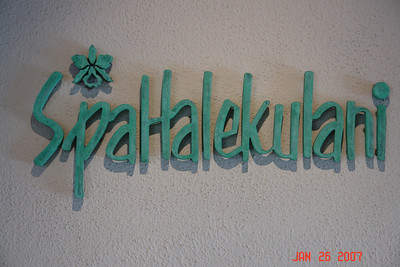 What a lovely hotel...The Halakulani