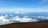 Big Island, Hawaii, off in the distant clouds