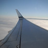 9/13 - The wing of our Alaska Airlines flight