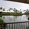 9/13 - A view from our lanai at Mauna Lani Terrace.