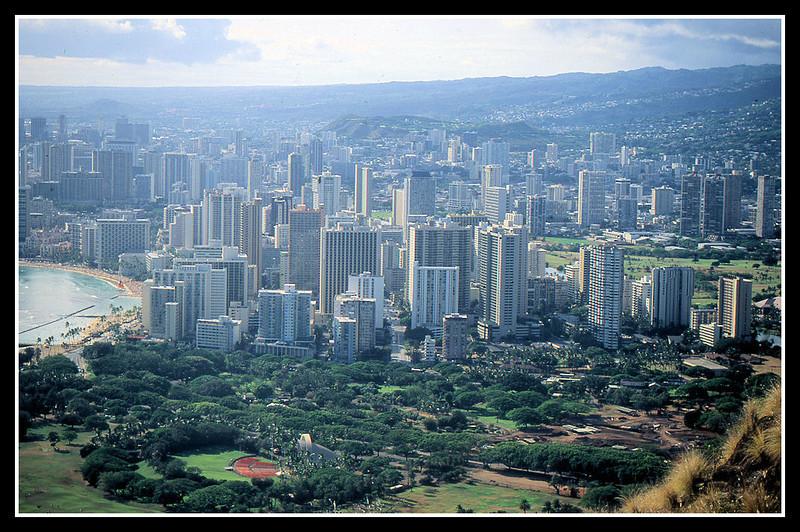 Honolulu city.
