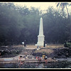 Historical monument to Captain Cook.