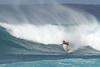 Surfer at Bonzi Pipeline North Shore