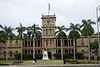 Ali'iolani Hale was named in honor of King Kamehameha V who initiated the planning and construction of this historic site as the official palace which was completed in 1874.