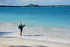 Shore Fishing on Kailua Beach