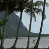 Steep pali at Kane'ohe Bay