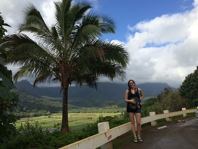 Chris's Phone: Hanalei Overlook.