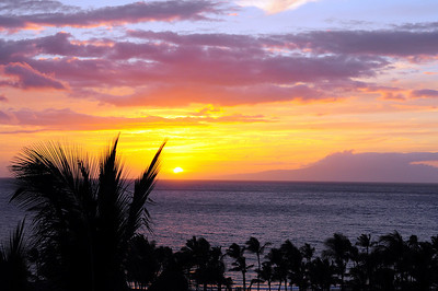 Maui 2009 Sunsets