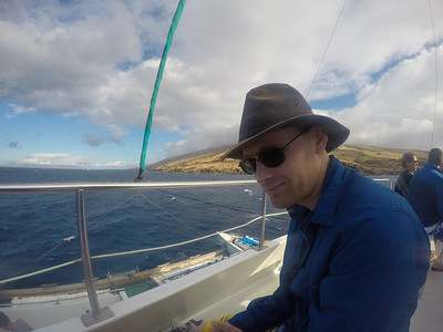 Maui, Day 2: Aboard the Four Winds II for a snorkeling adventure!