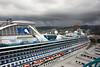 Diamond Princess Cruise Ship Docked in Honolulu
