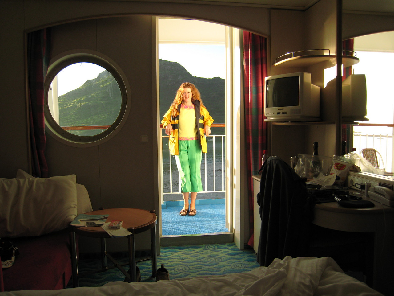 Our Stateroom on our ship.