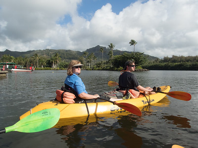 Canoeing on Kauai
