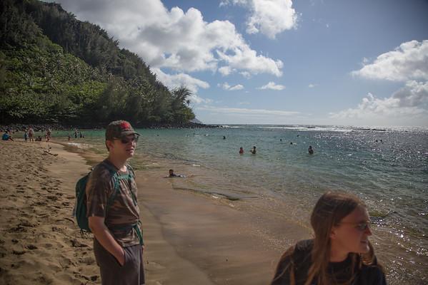 Fitst day on Kauai