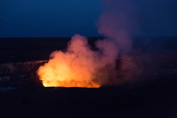 Volcanoes and Waterfalls