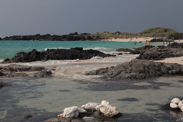 White Sand Beach on Big Island