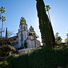 Bus dropoff - Hearst Castle
