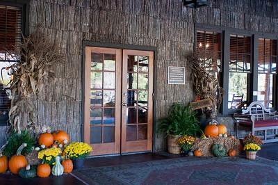 Entrance to the Inn.