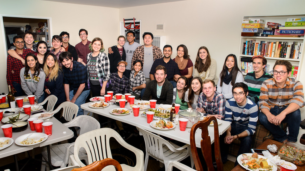"""Friendsgiving"" with Eric's College Friends"
