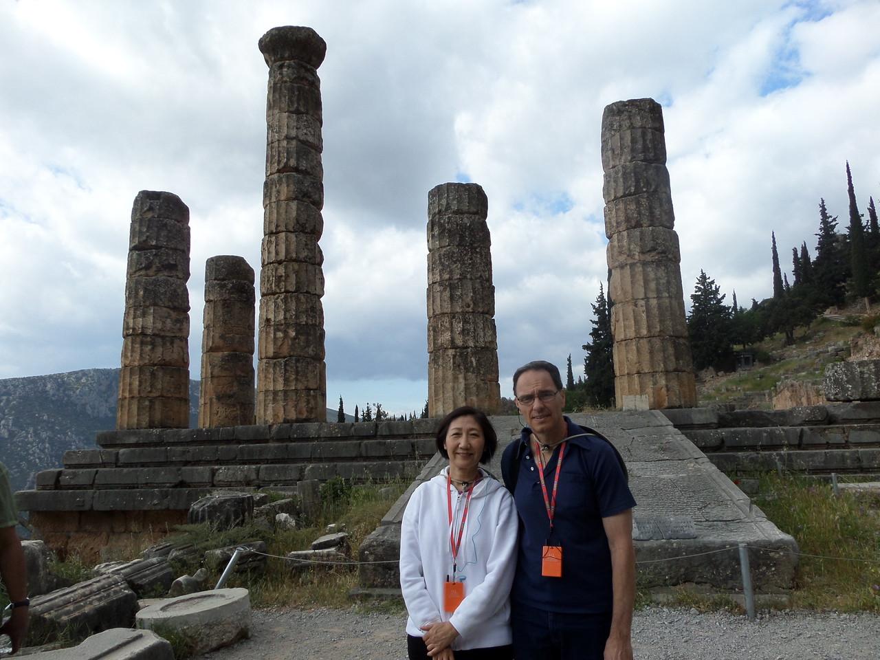 The Temple of Apollo, Delphi