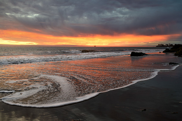 Post-Finals Sunset in Isla Vista, California