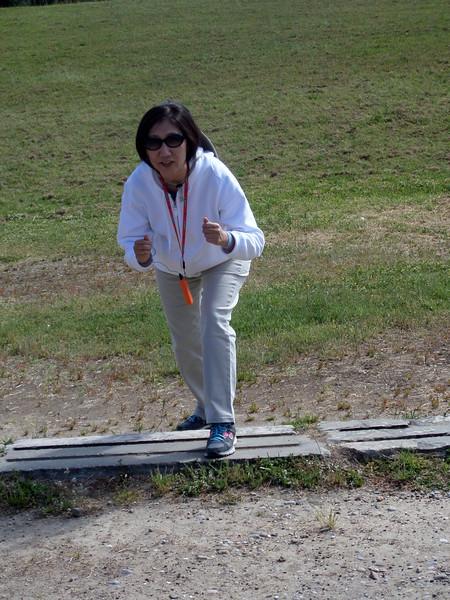 100m Run, Olympia