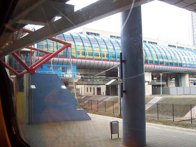 A Dutch train station.