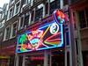 Walking in Amsterdam. A coffee bar (marijuana bar).