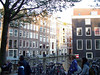 Lots of beautiful architecture in Amsterdam.