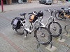 Our bicycles while in Holland. These belong to Caroline's parents.