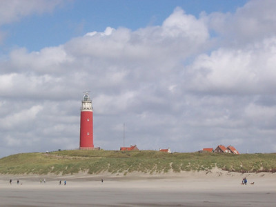 The lighthouse on Texel.