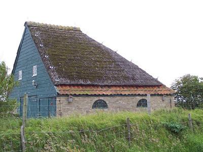 A peculiar barn found all over Texel.