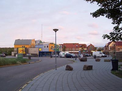 "Still daylight at 10 PM in the village of ""de Koog"" on Texel."