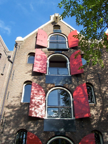 A building in Amsterdam.