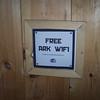 I didn't know Noah's ark had wi-fi!