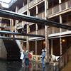 Inside Noah's ark in Dordrecht. It's five stories tall!