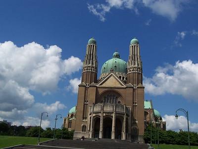 The Basilica Church in Brussels.