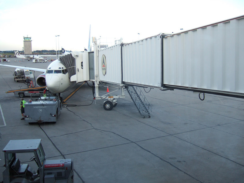 KJ's very first plane ride!!!!   Spokane-Salt lake