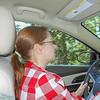 Me driving down Mt. Rainer