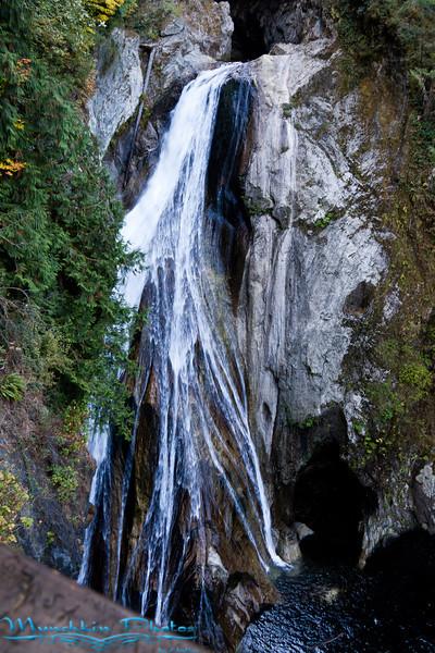 bottom of falls