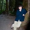 Jim posing on a tree